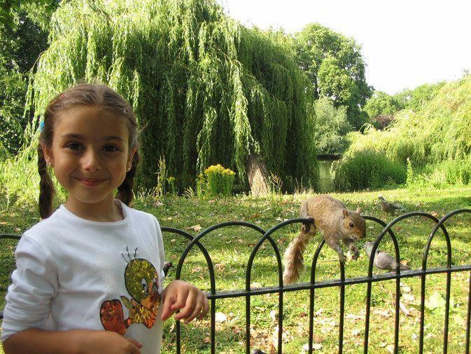 visitar londres con niños