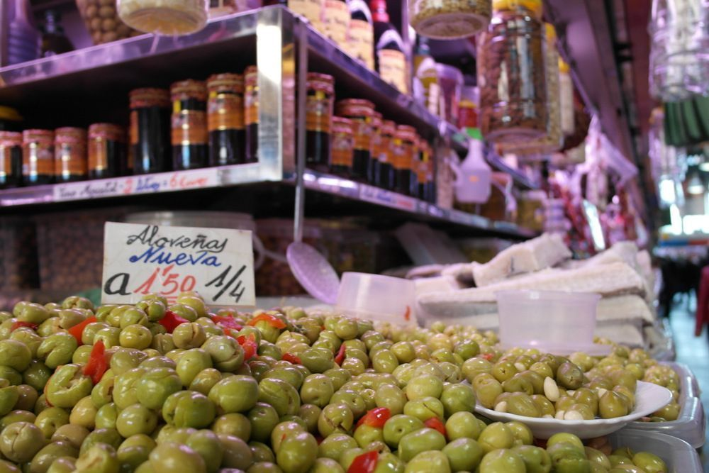 Málaga, mercado de las atarazanas