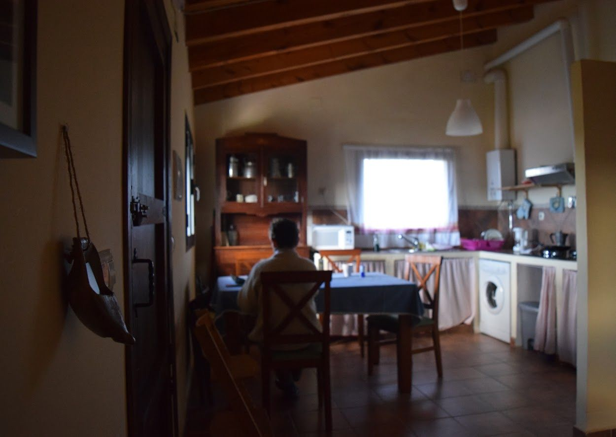 Cocina en apartamentos rurales cielo abierto