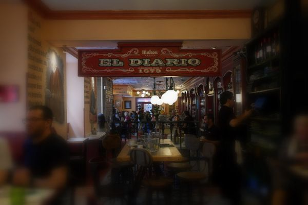Restaurante el diario de huertas madrid