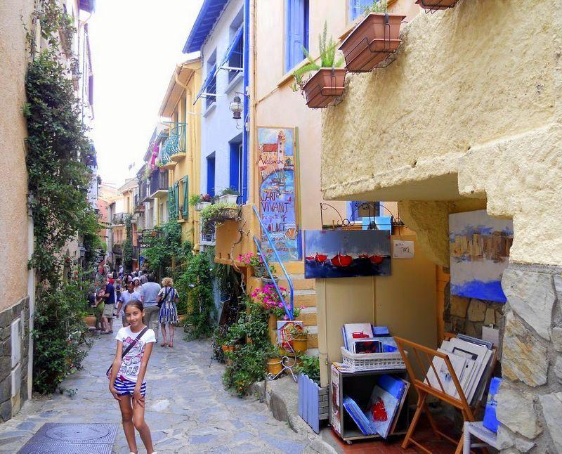 Colliure, Refugio de pintores y poetas